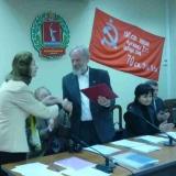 Festakt in Wolgograd