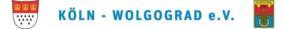 Wolgograd-Verein Köln - Verein zur Förderung der Städtepartnerschaft Köln-Wolgograd e.V.