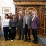 Inklusionsdelegation 2012 im Rathaus