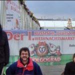 Weihnachtsmarkt in Wolgograd